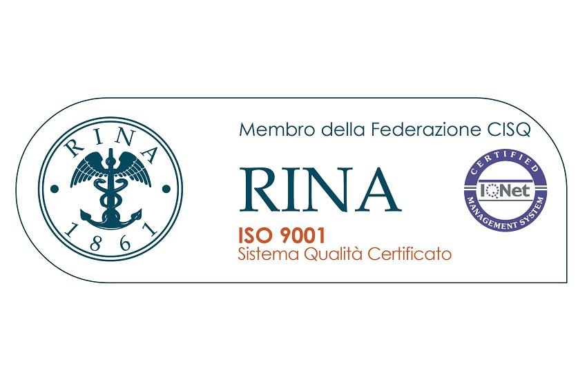 Certificazione RINA ISO 9001 2008 - Odontonetwork Oral Health Care Management - Sede Operativa Genova
