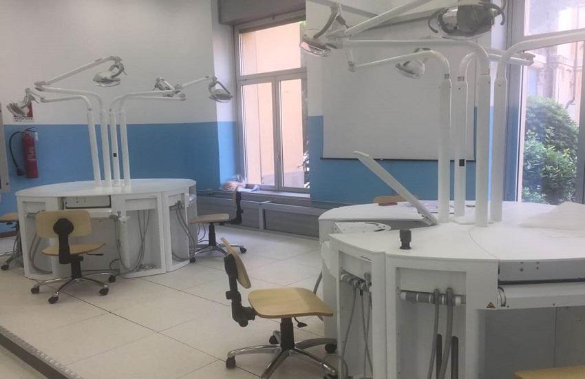 Sala di simulazione odontoiatrica - Odontonetwork Genova