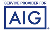 service provider for AIG